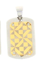 YYP20-065  Stainless steel pendant