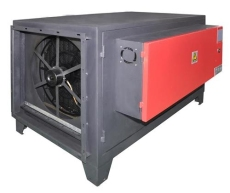 中山九洲普惠风机LPF-JD系列静式油烟净化器安装