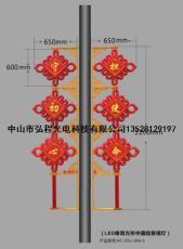 LED小單耳方形中國結景觀燈
