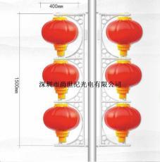 LED 磨砂燈籠400MM3連串