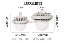 70W防水防塵防震燈 運輸皮帶照明 100W免維護LED燈