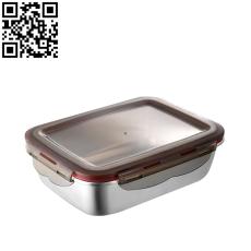 方形保鮮盒(Stainless steel Preservation Box)ZD-BXH17