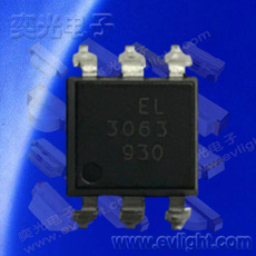 SOP6雙向可控硅光耦EL3063S1(TU)