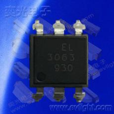 6PIN 貼片型EL3061S1(TA)雙向可控硅光耦