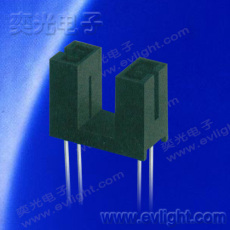 """槽型光耦ITR9608-F俗稱為""""U型光耦""""或""""槽型光電開關"""""""