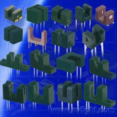 一體化成型的槽型光耦 槽型光電開關 U型光耦 ITR21107