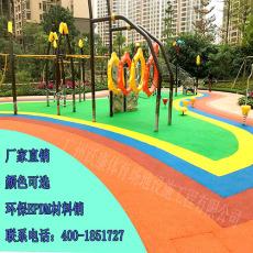 EPDM橡胶颗粒幼儿园塑胶地面EPDM环保彩色颗粒健身房地板材料