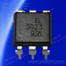 6Pin DIP-DC任意电平驱动的可控硅光耦EL3023