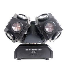 Double Head LED Laser Moving Head Lights