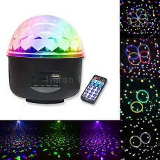 MP3 LED Crystal Magic Ball Light