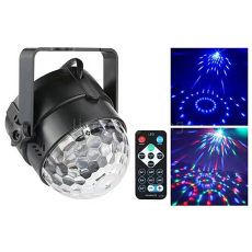USB LED Crystal Magic Ball light for Party Disco Club