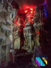 洞穴房制作 水泥仿真溶洞餐廳 會所酒店山洞房