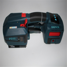 p316手提电动打包机,触摸式塑钢带包装机