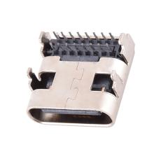 TYPE-C16P母座90度插板L8.97