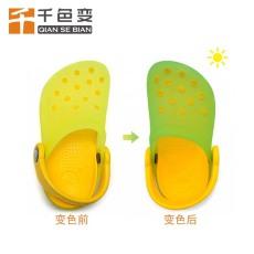 批發光變粉無色變有色硅膠變色顏料UV紫外線鞋材變色粉感光變色粉