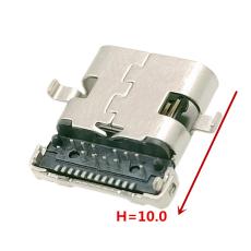 TYPE-C24P母座沉板1.9 H10.0