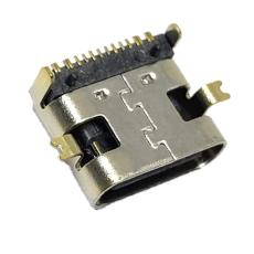 TYPE-C 16P母座短體前貼后插L7.35