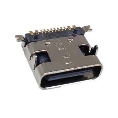 TYPE-C16P母座短體前插后貼H7.35