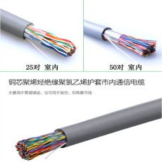 MHYAV阻燃通信電纜-20對