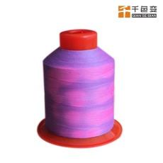 手摸变色涤纶蚕丝纱线 可定制颜色和规格