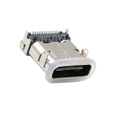 TYPE-C24P防水母座前插后貼H10.65