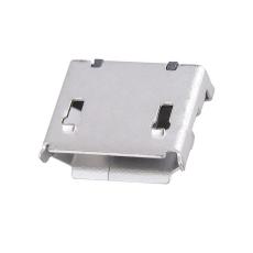 MICRO5P母座6.4前插后貼卷邊