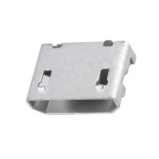 MICRO5P母座6.4前插后貼直邊