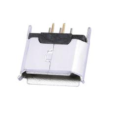 MICRO5P母座180度立式插板卷邊