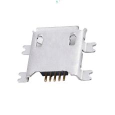 MICRO5P母座四腳貼片沉板1.2卷邊