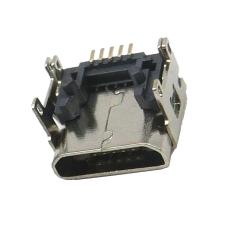 MICRO5P母座墊高2.5MM直邊