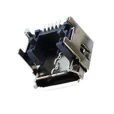 MICRO5P母座墊高4.45MM卷邊