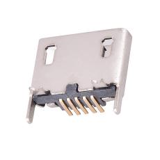 MICRO5P母座立式貼板直邊