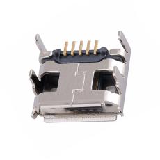 MICRO5P母座四腳插板卷邊