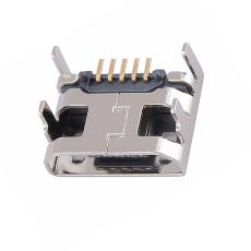 MICRO5P母座四腳插板直邊