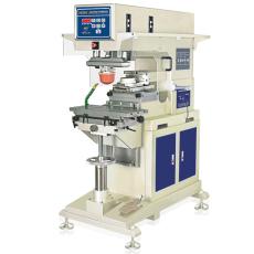 气动单色伺服油盅式移印机