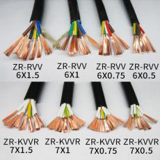 ZR-KVVRP阻燃屏蔽控制电缆